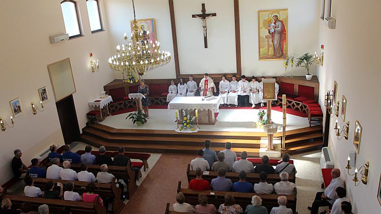 misa milanovac crkva