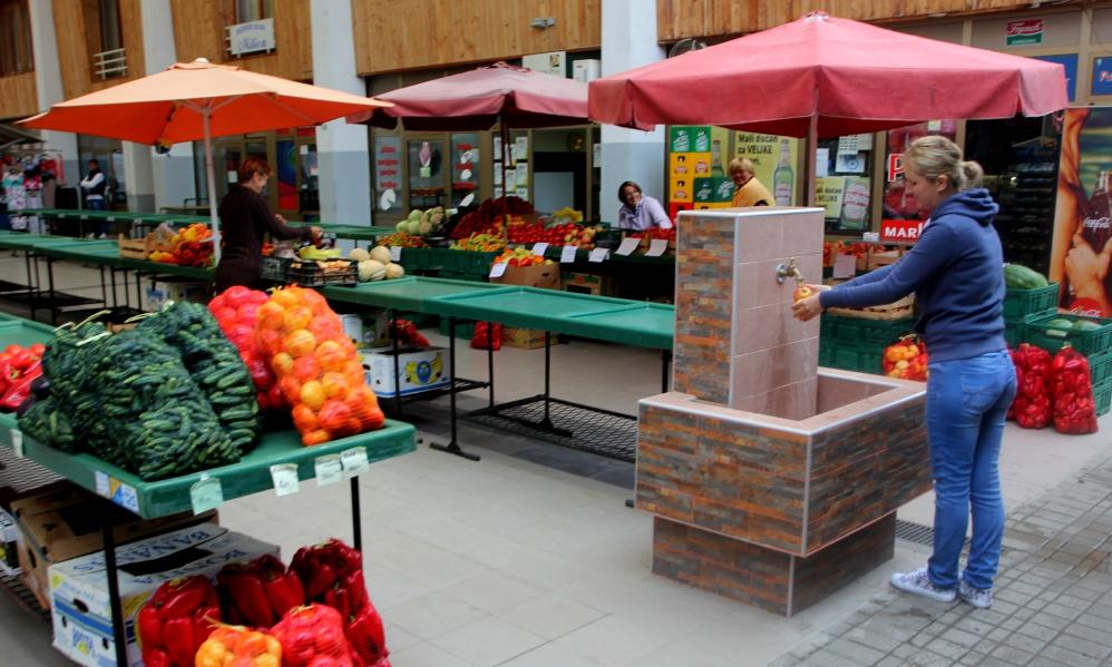 zdenac tržnica